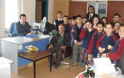 Öğrenciler dersi Nüfus Müdürlüğü'nde işledi