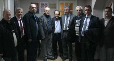 Sendika temsilcilerinden CHP'ye ziyaret