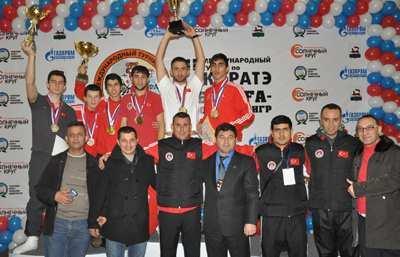 Zeren Rusya'da üçüncü oldu