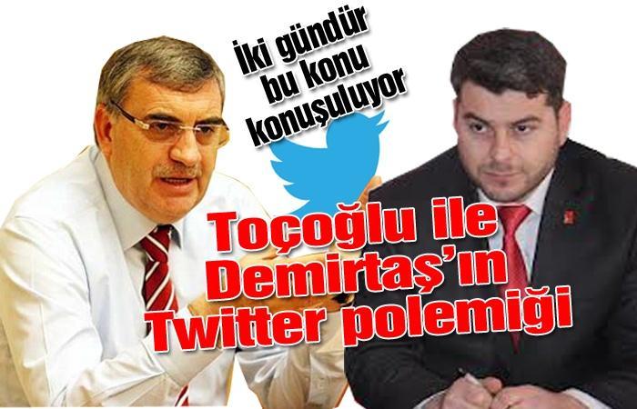 Demirtaş, Toçoğlu'na ne sordu?