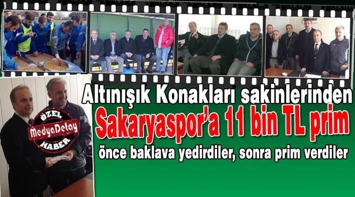 Altınışık Konakları'ndan Sakaryaspor'a prim!