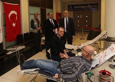 SATSO'dan kan bağışına destek