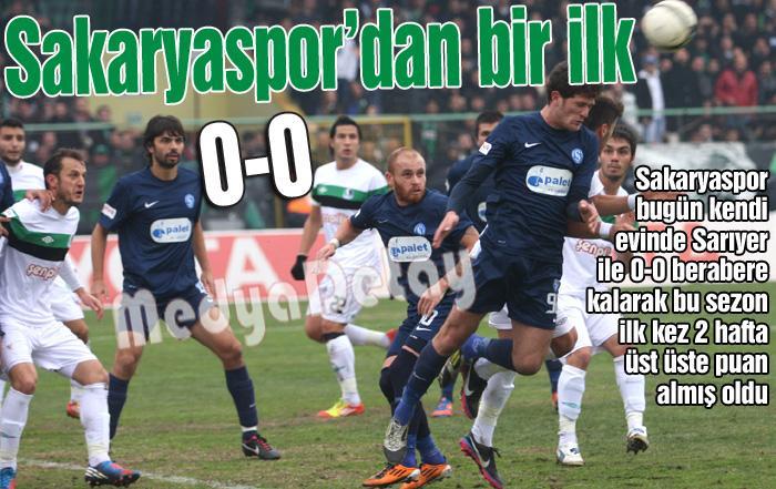 Sakaryaspor'dan 2 maçta 4 puan!