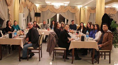Fatmana Okutan'da öğretmenler günü yemeği