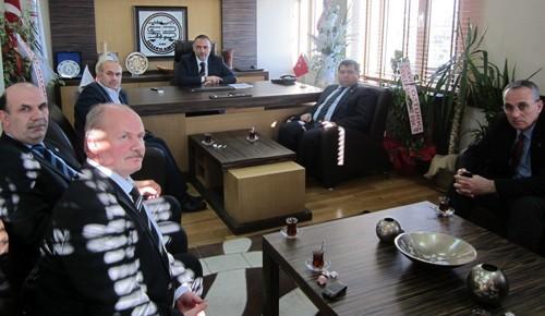 Hacıeyüpoğlu'na ziyaretler sürüyor