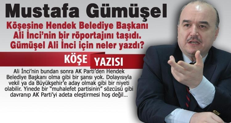 Ali İnci CHP İl Başkanı gibi!.