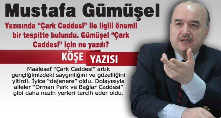 Çark Caddesi out, Orman Park, Bağlar Caddesi in!...