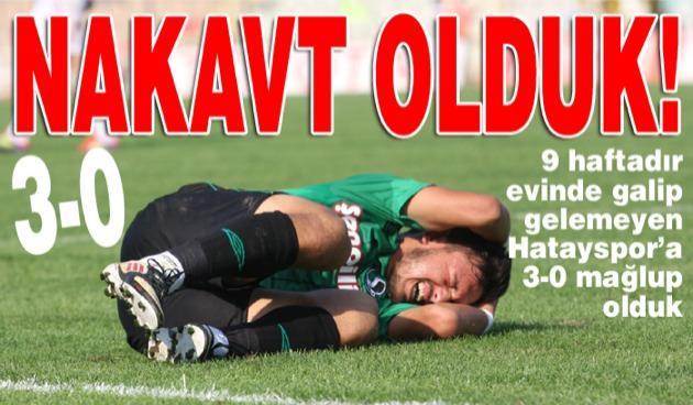Hatayspor'a ilk galibiyetini yaşattık!