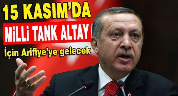 Başbakan Sakarya'ya geliyor!