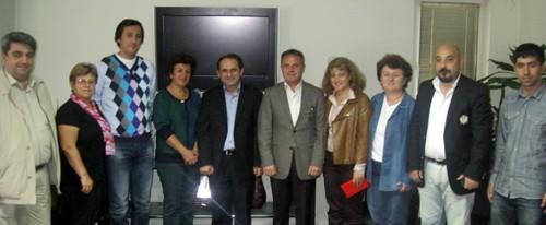 CHP'den SASİAD'a ziyaret