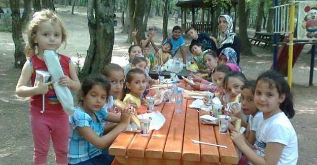 Kuzuluk Orman Park öğrencileri ağırladı