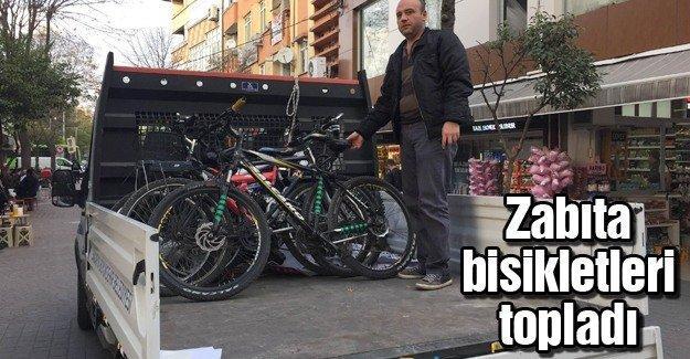 Trafiğe kapalı alanda bisiklet kullananlara ceza