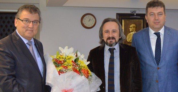 Baro Başkanı Kazan'dan SSMMMO'ya ziyaret