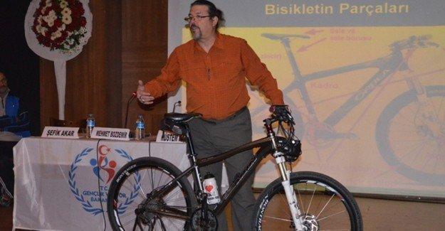 """""""Sağlıklı yaşam için bisiklet"""" paneli düzenlendi"""