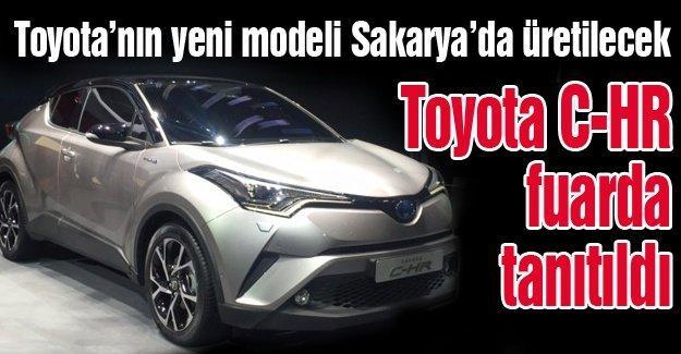Toyota'nın yeni modeli Sakarya'da üretilecek