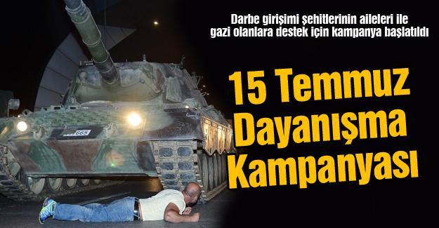 15 Temmuz Dayanışma Kampanyası