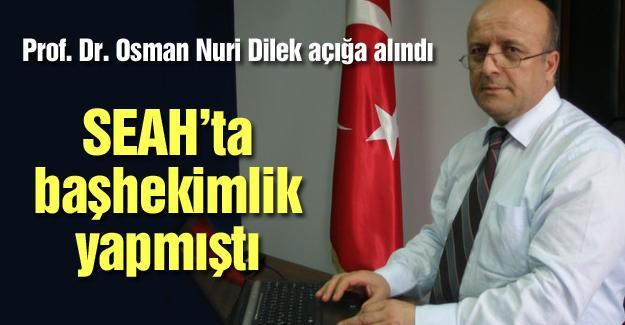 Prof. Dr. Osman Nuri Dilek açığa alındı