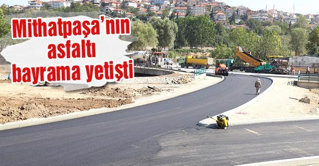 7 bin ton asfalt döküldü