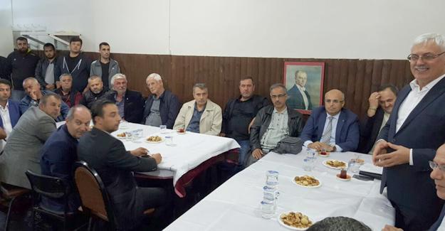 AK Parti Adapazarı mahalle danışmalara başladı