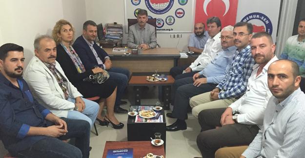 AK Parti Serdivan'dan teşekkür ziyareti