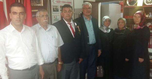 Başkan Ak Gazileri ziyaret etti