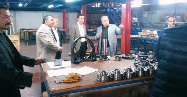 Çelik'ten sanayi kuruluşlarına inceleme gezisi