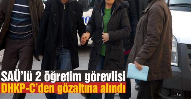 DHKP-C'den gözaltına alındılar