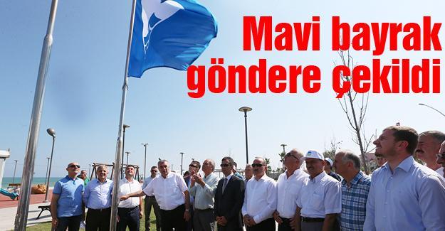 Karadeniz sahili mavi bayrakla buluştu