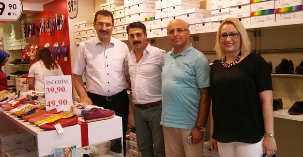 Milletvekili Yavuz'dan esnaf ziyareti