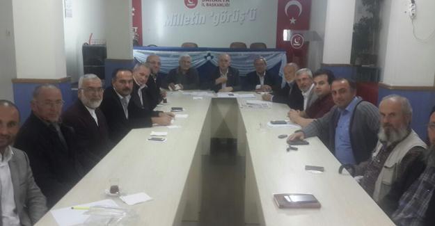 Milli görüş kadroları Ankara'da