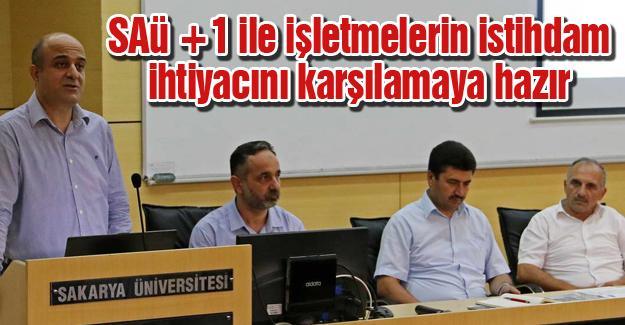 """SAÜ'de """"Sektörel İşbirliği"""" toplantısı"""