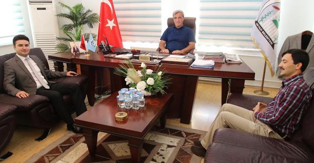 Tayin olan savcılardan Başkan Akcan'a ziyaret