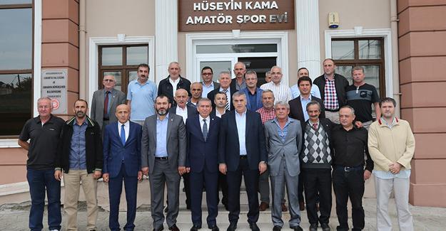 Toçoğlu'ndan amatör kulüplere müjdeli haber