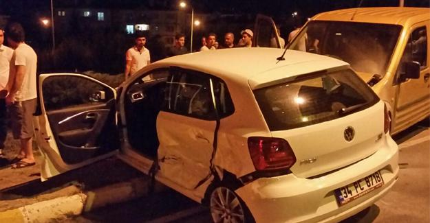 Yenikent'te kaza