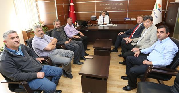 23. Meslek Komitesi'nden Çevre İl Müdürü'ne ziyaret