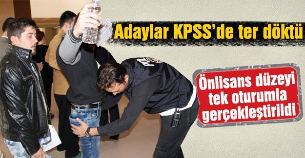 Adaylar KPSS'de ter döktü