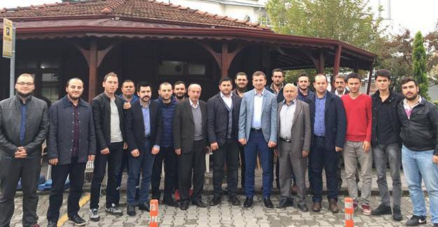 AK gençlik Akyazı'da gençlerle buluştu