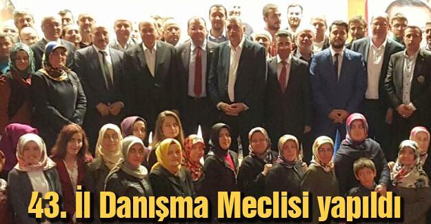 AK Parti Adapazarı partililerle toplandı