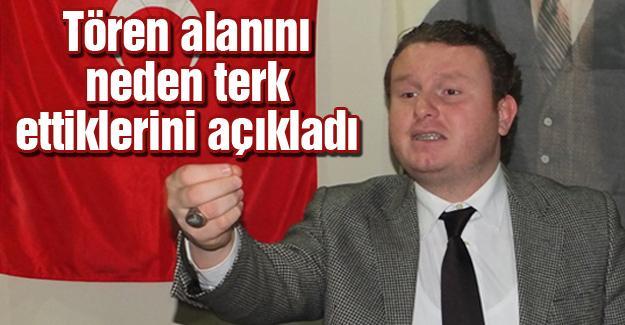 AK Parti İl Başkanına tepki