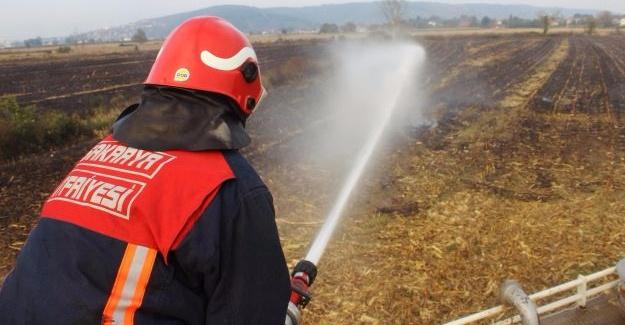 Bin 500 anız yangınına müdahale edildi