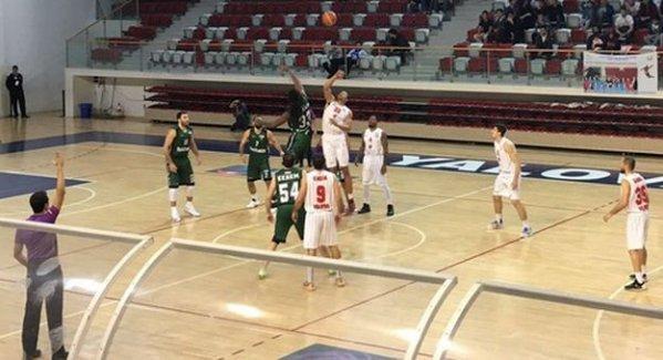 Büyükşehir Basket Yalova'da galip