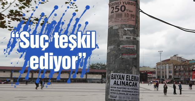 Büyükşehir'den izinsiz afiş uyarısı