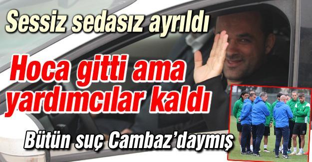 Cem Cambaz Sakarya'dan ayrıldı