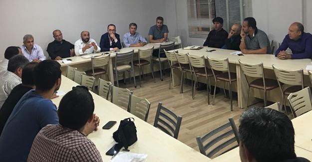 Eğitim-Bir-Sen İlçe Temsilcileri Toplantısı yapıldı