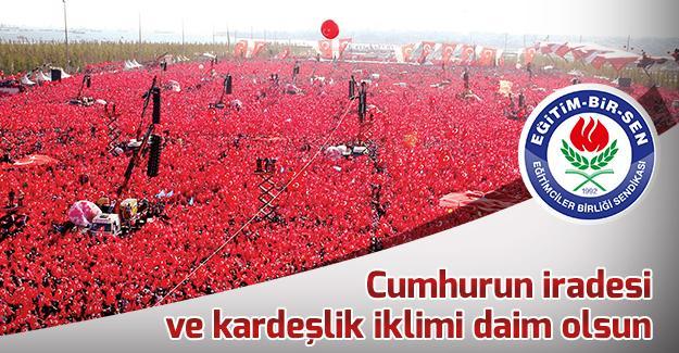 Eğitim-Bir-Sen'den Cumhuriyet Bayramı basın açıklaması