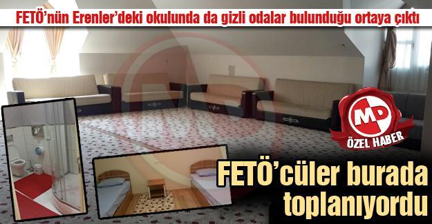 FETÖ'nün Erenler'deki okulunda da gizli odalar bulunduğu ortaya çıktı