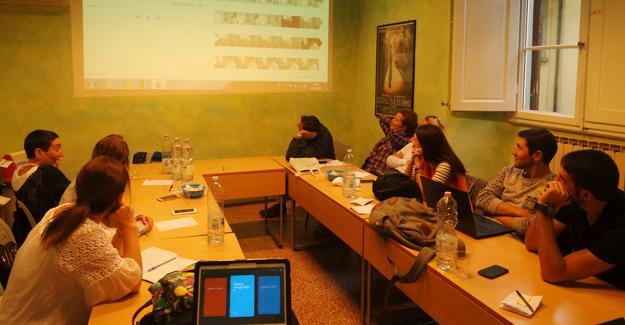 Floransa'da video yoluyla öğretimi gözlemlediler