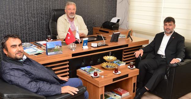 Hak-İşten TRT'ye ziyaret