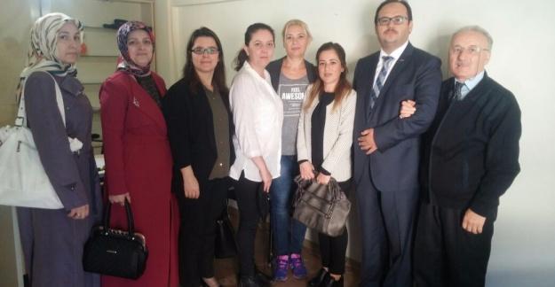 Okul aile birliğinden Medya Detay'a ziyaret