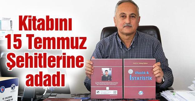 Prof. Dr. Yılmaz Özkan'dan 'Olasılık ve İstatistik' kitabı